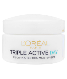 Loreal Imported Triple Action Multi-Protection Day Moisturiser Day Cream 50 Ml - 637402345886