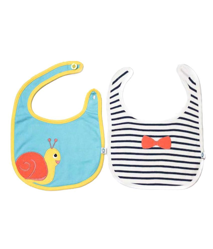 228aaed4a30 Cuddledoo Multi-Colour Cotton Bibs - Set of 2: Buy Cuddledoo Multi-Colour  Cotton Bibs - Set of 2 at Best Prices in India - Snapdeal