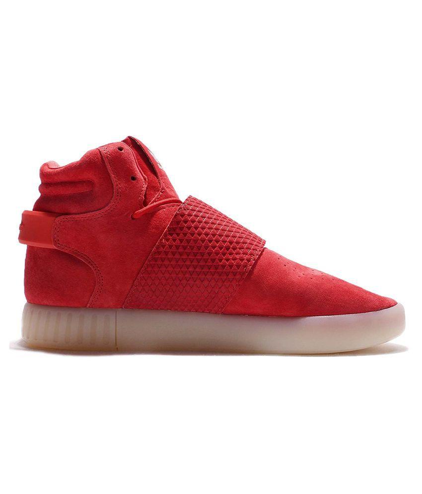 c2ef213fb9f2a0 Adidas Tubular Invader Red Casual Shoes Adidas Tubular Invader Red Casual  Shoes ...