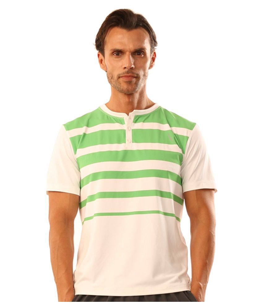 Dive Green Polyester Lycra T Shirt