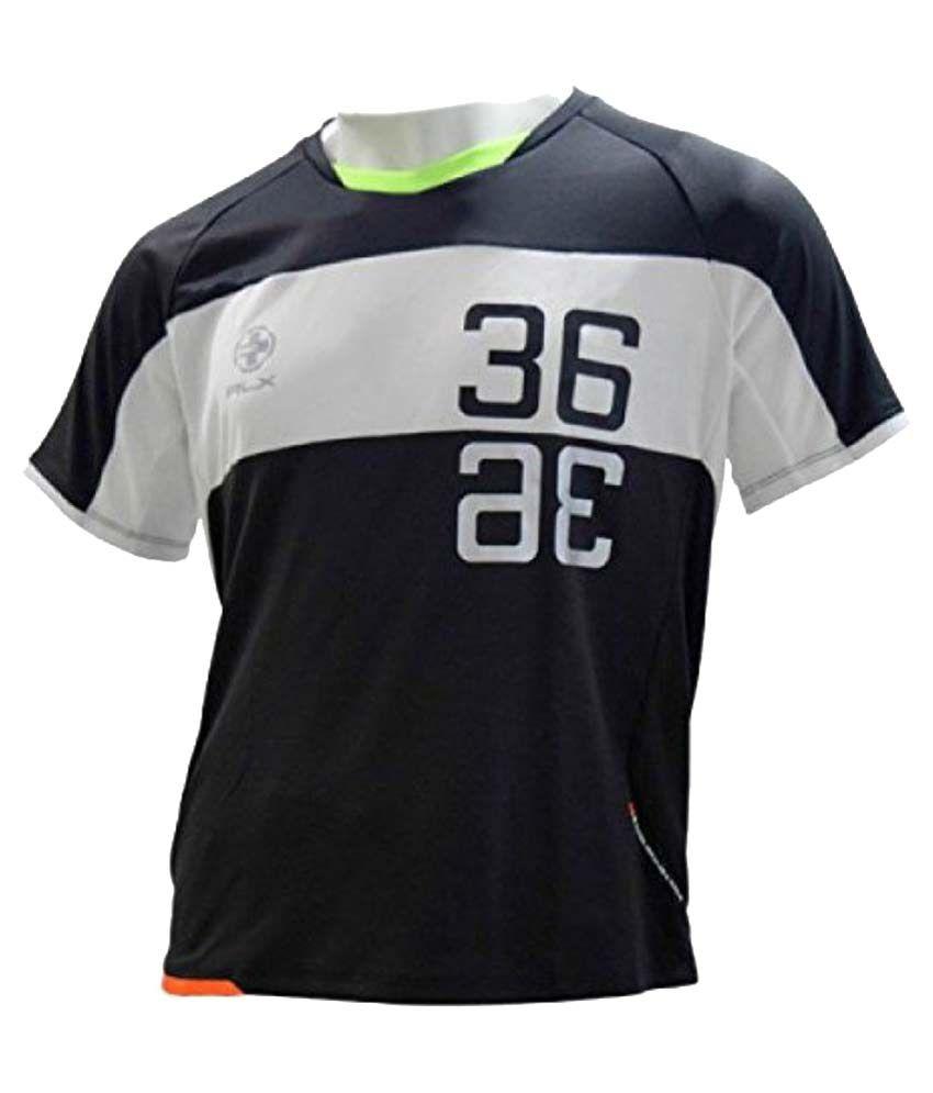 Ralph Lauren RLX Black Polyester T Shirt