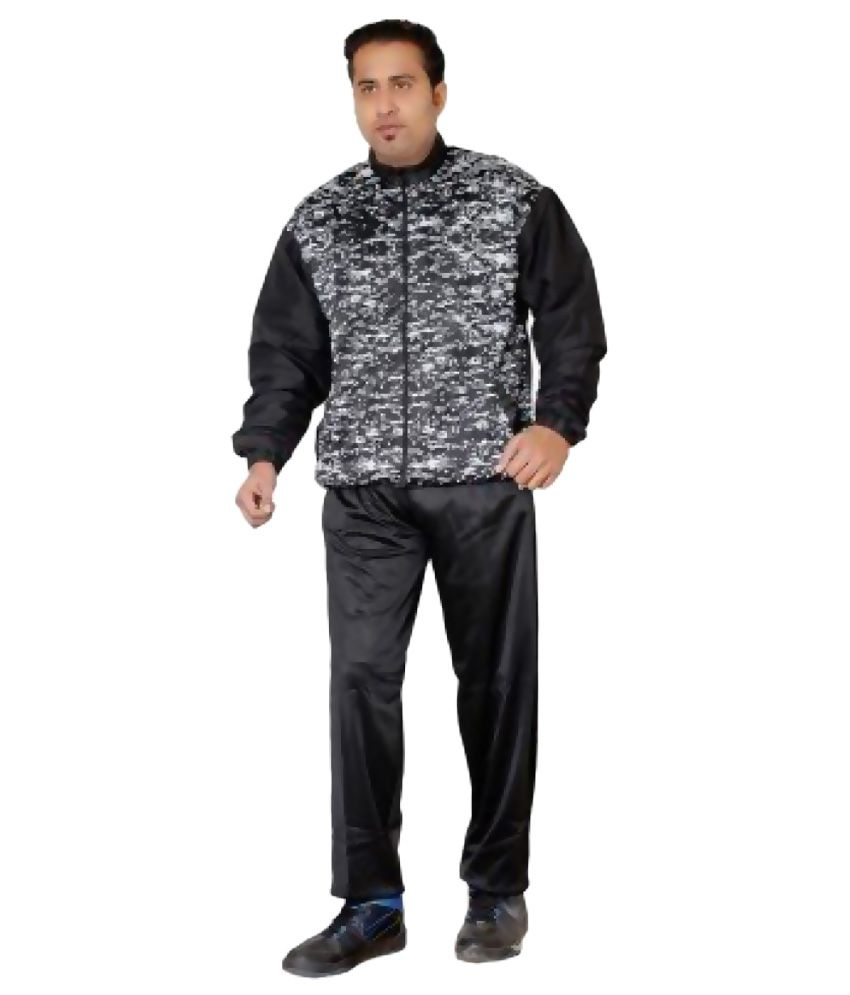 Vector X Dragon Black Polyester Track Suit
