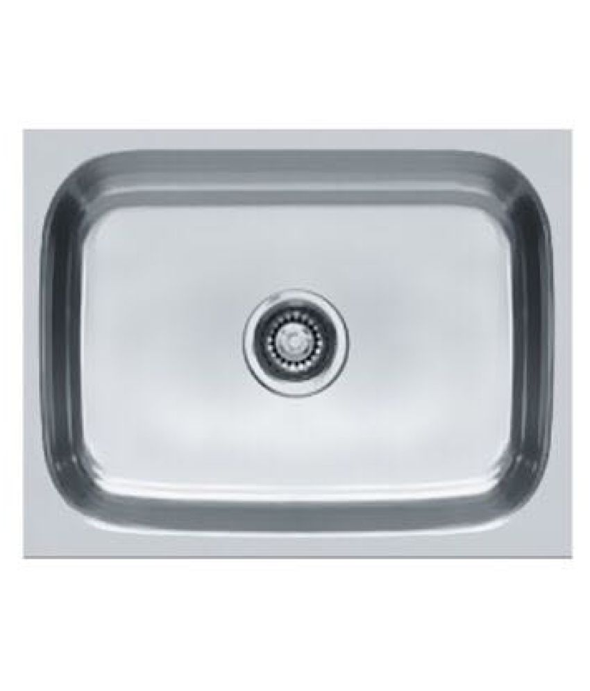 buy franke metal single bowl sink without drainboard online at low rh snapdeal com