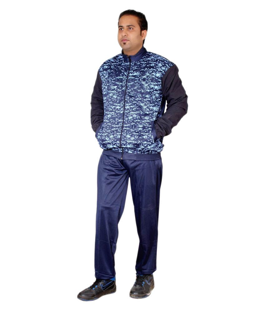 Vector X Dragon Blue Polyester Track Suit
