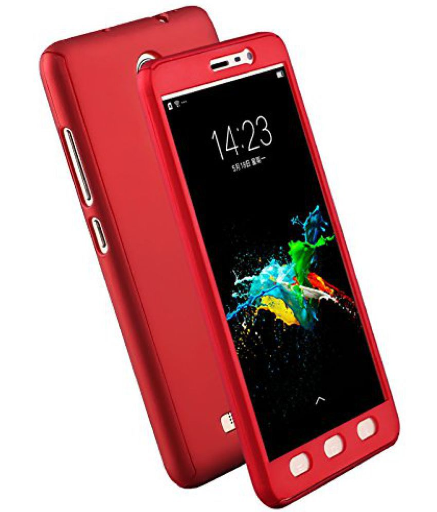 big sale 82635 f923d Oppo A37 Plain Cases Doyen Creations - Red