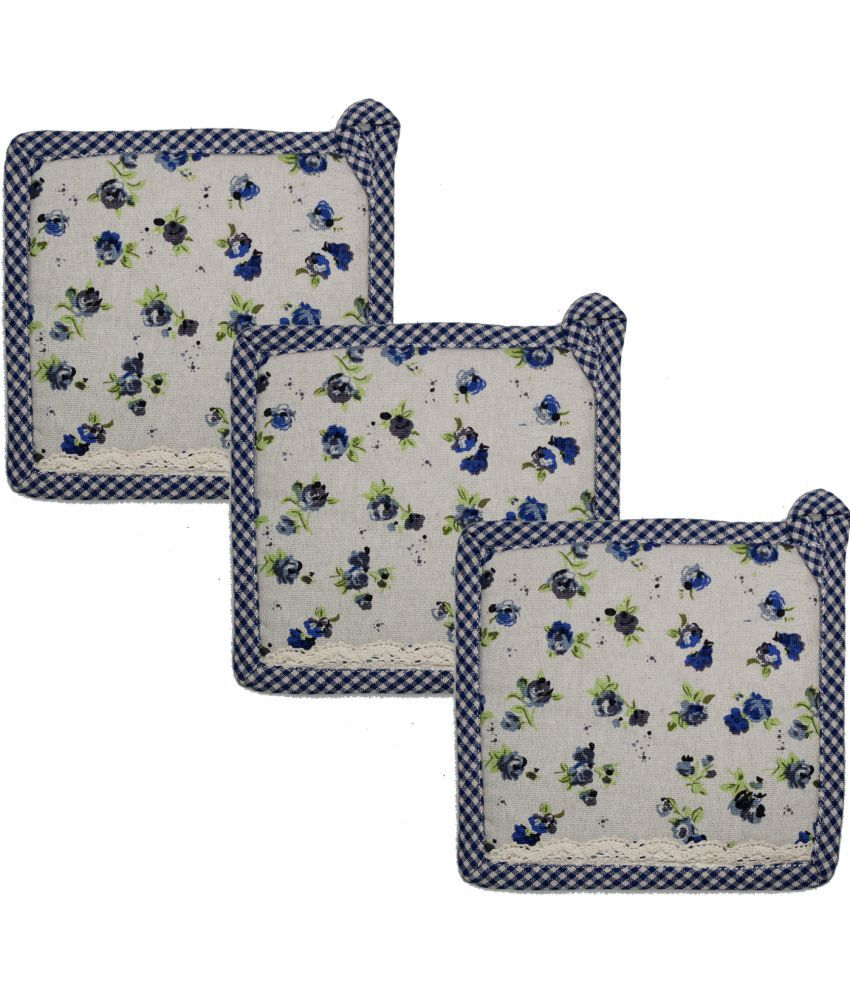 Airwill Multicolor Pot Holder - Set of 3