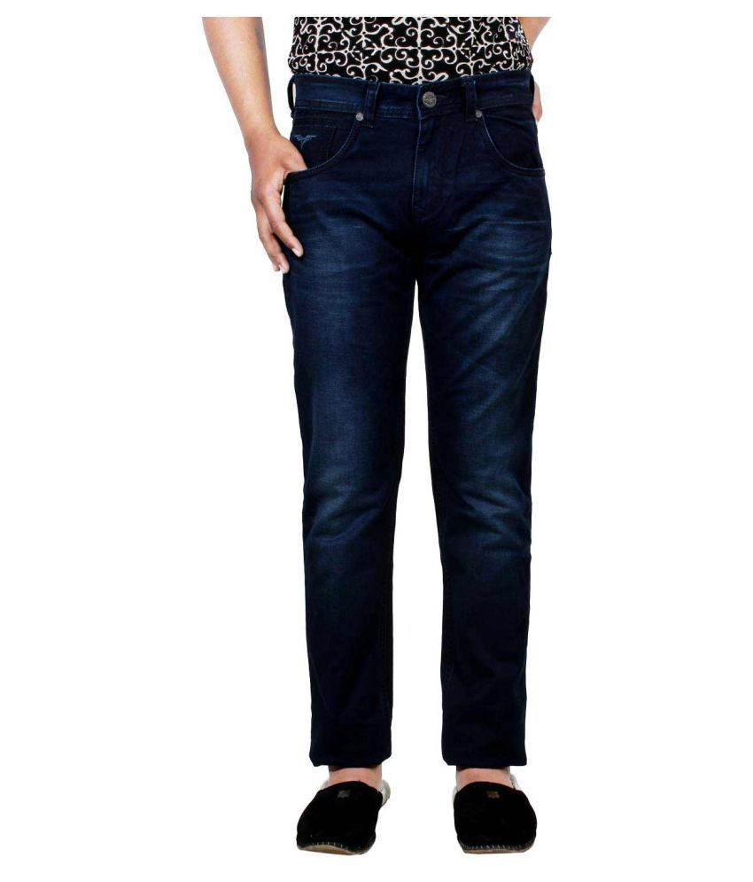 Pontiac Blue Relaxed Jeans