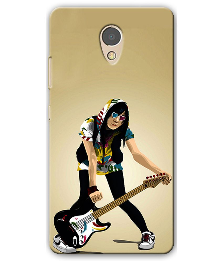 Lenovo P2 Printed Cover By Cell First