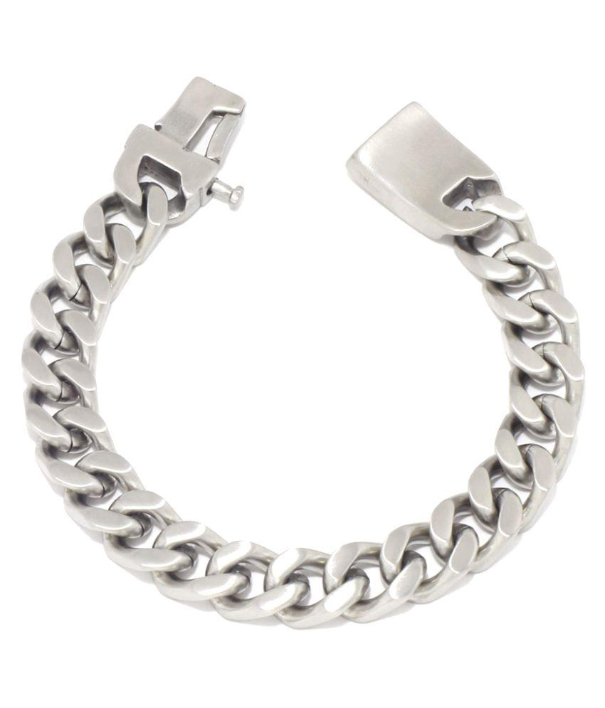 Saizen Silver Bracelet