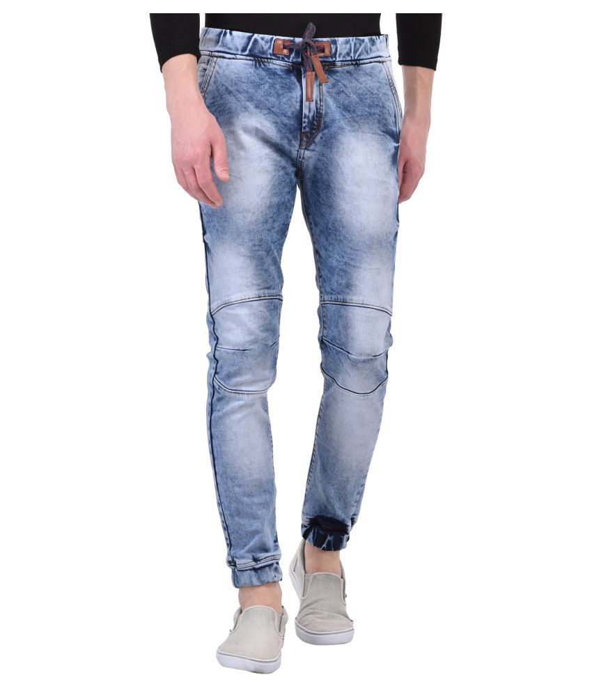 Lafantar Blue Skinny Jeans