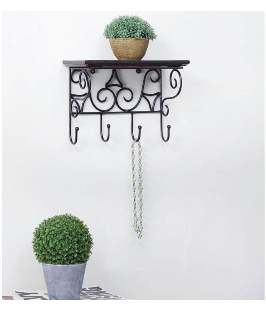 Onlineshoppee Floating Shelf/ Wall Shelf / Storage Shelf/ Decoration Shelf Brown Single