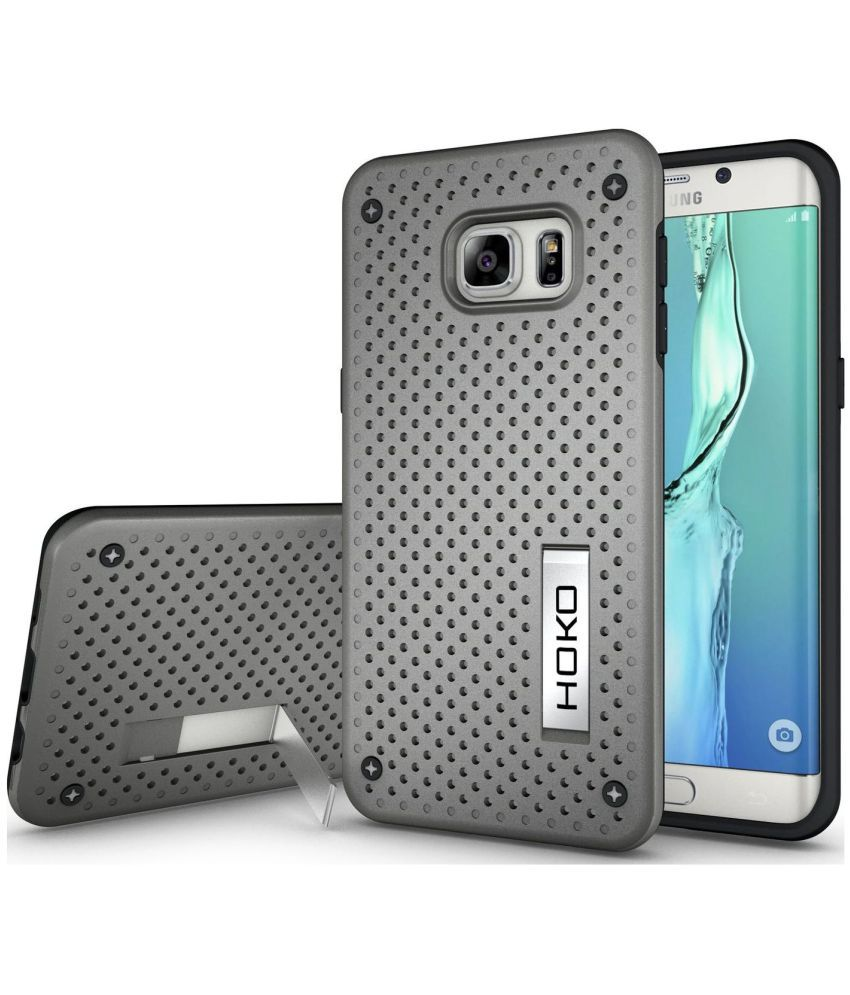 Samsung Galaxy S6 Edge Plus Cases with Stands HOKO - Grey