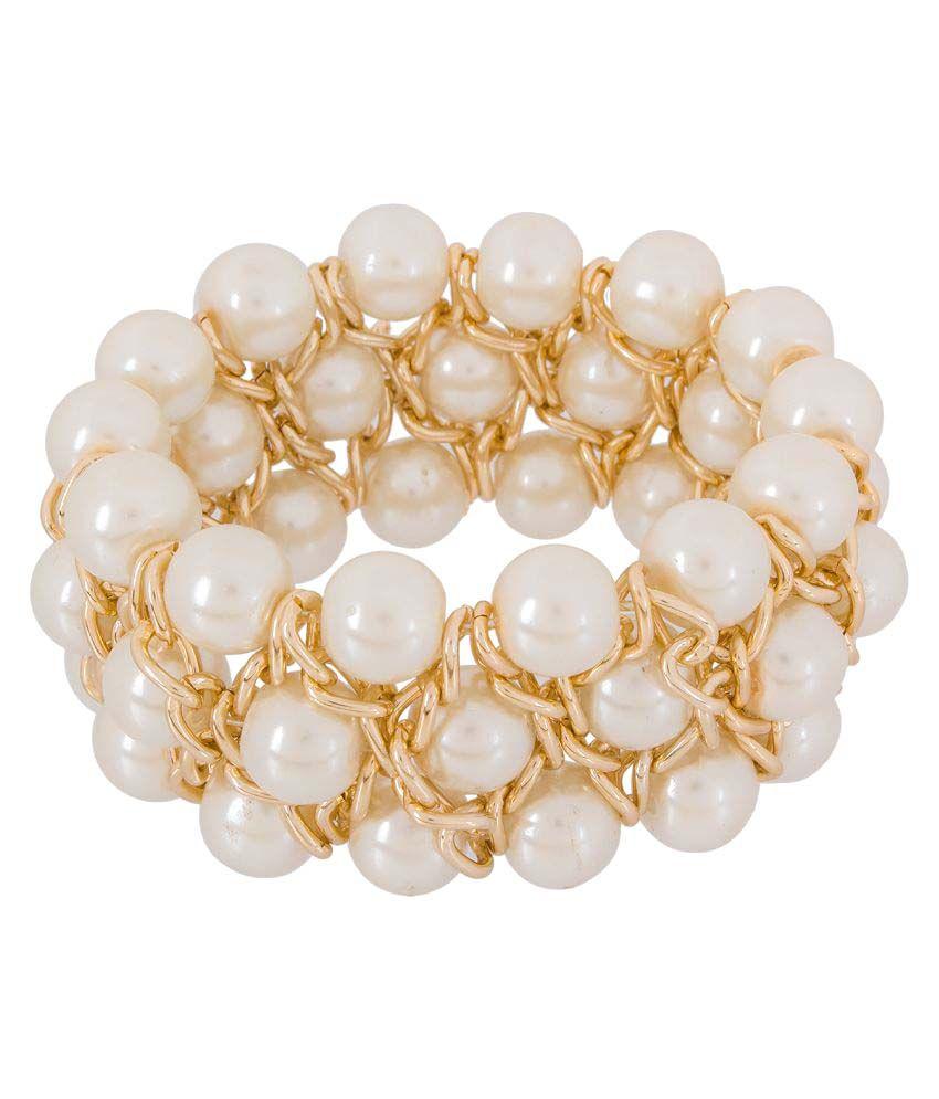 Caitali Gold Plated Bracelet for Women