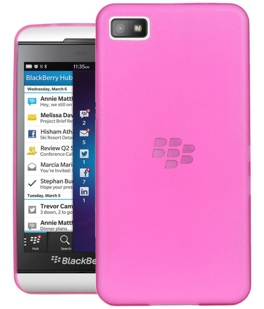 Blackberry Z10 Shock Proof Case CUBIX - Pink