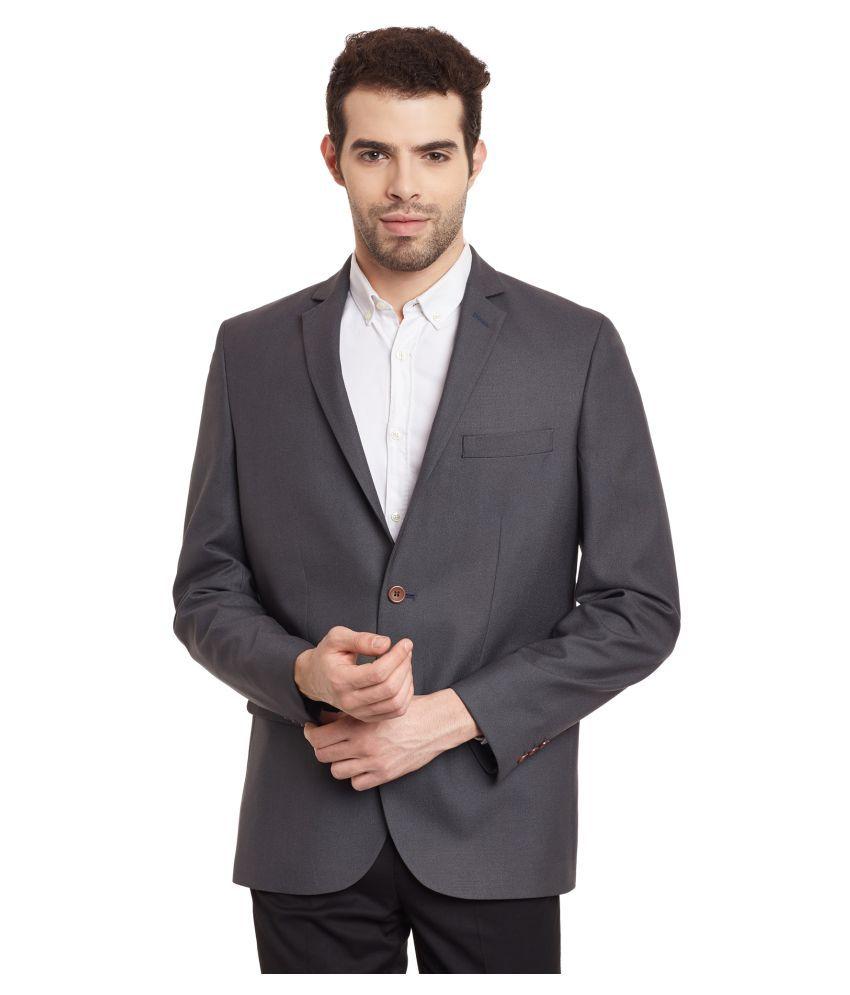 Envoy Grey Plain Formal Blazers