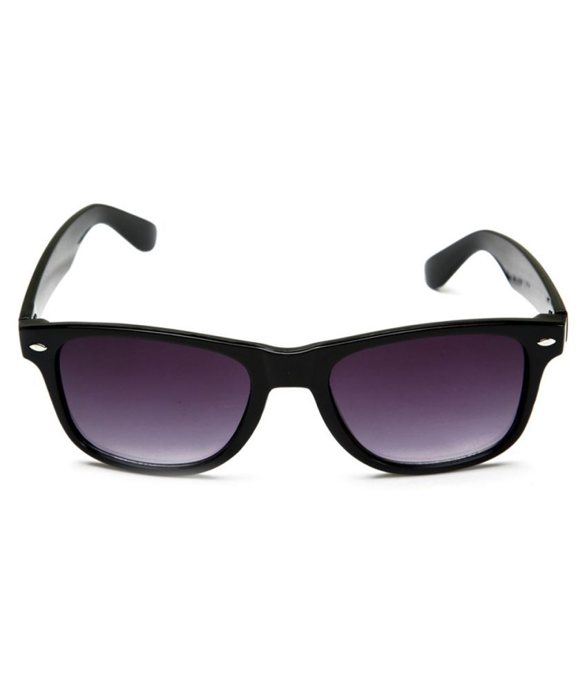 Ansh Fashion Wear Purple Aviator Sunglasses ( 1 )