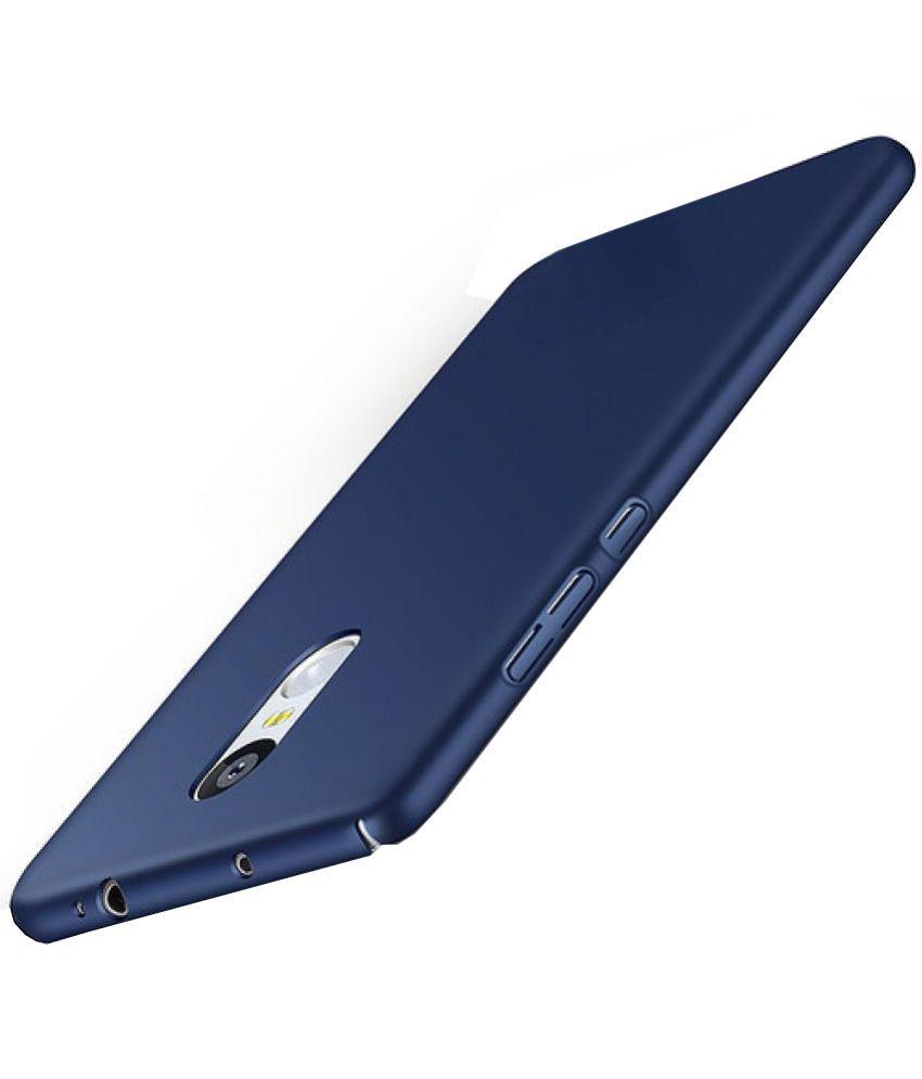 official photos 996a3 6e3e0 Xiaomi Redmi Note 4 Plain Cases BuyFeb - Blue