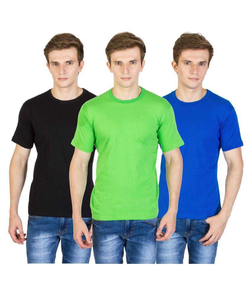 Calaso Multi Round T-Shirt Pack of 3