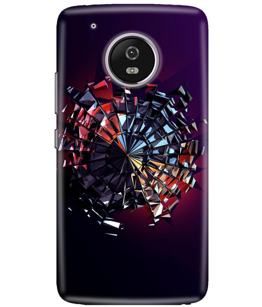 Moto G5 Plus Printed Cover By Knotyy