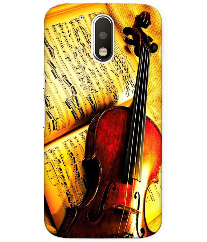 Moto G4 Plus Printed Cover By CRAZYINK