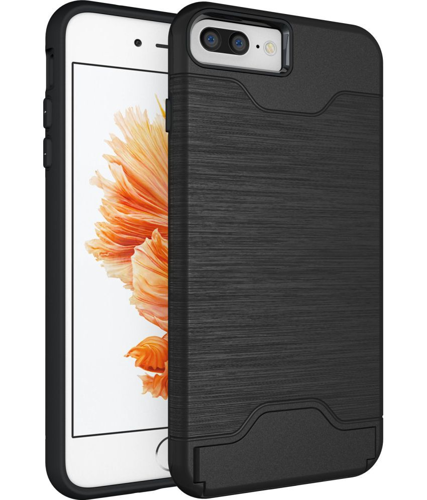 Apple iPhone 7 Plus Cases with Stands CUBIX - Black