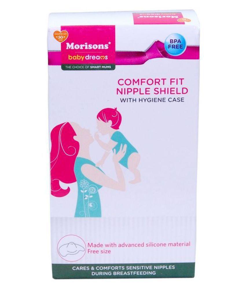 Morisons Baby Dreams Silicone Nipple Shield ( 2 pcs )