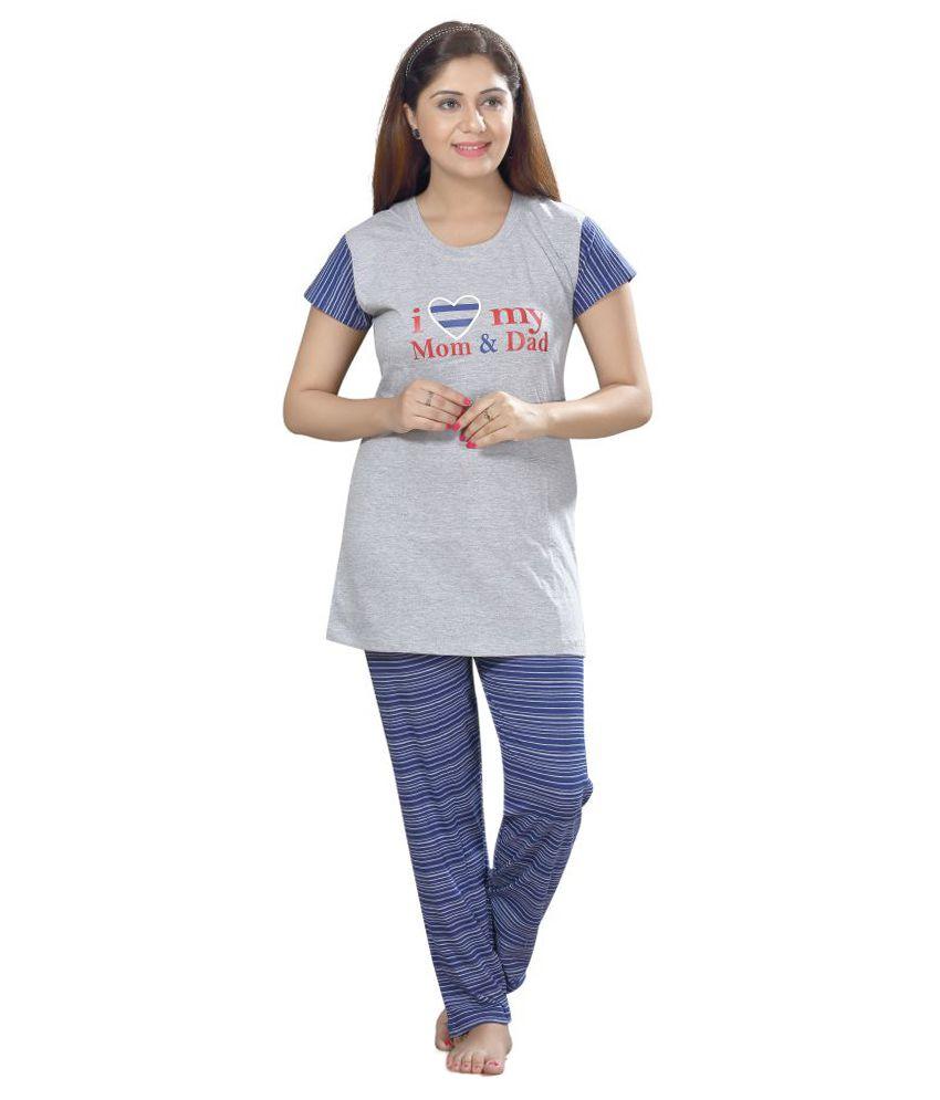 Jinudi Cotton Nightsuit Sets