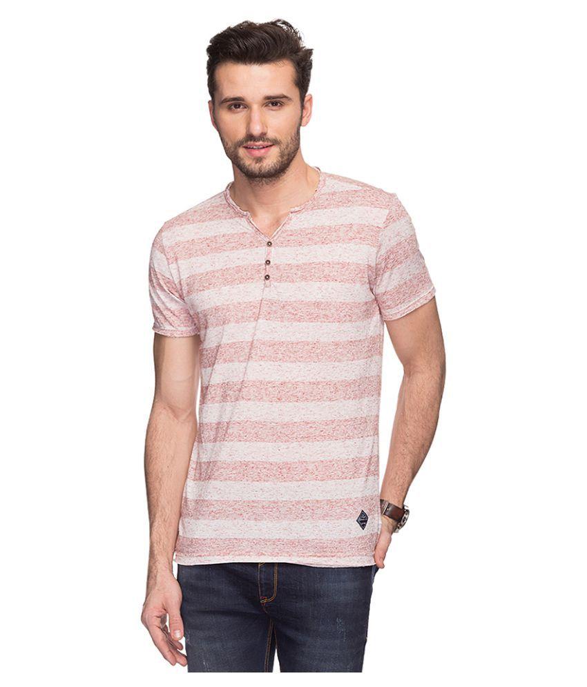 Status Quo Multi Henley T-Shirt