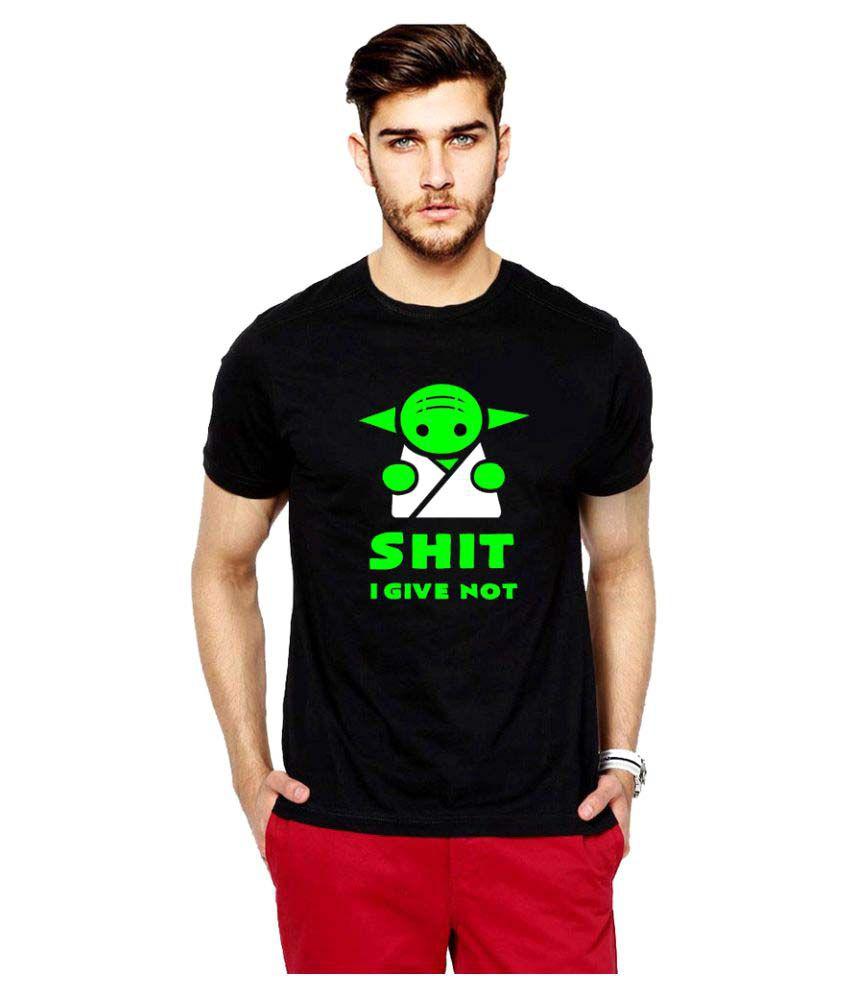 iLyk Black Round T-Shirt