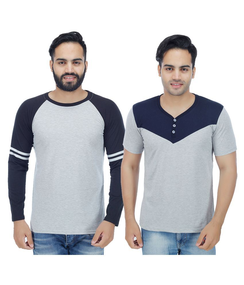 Candy House Multi Round T-Shirt Pack of 2