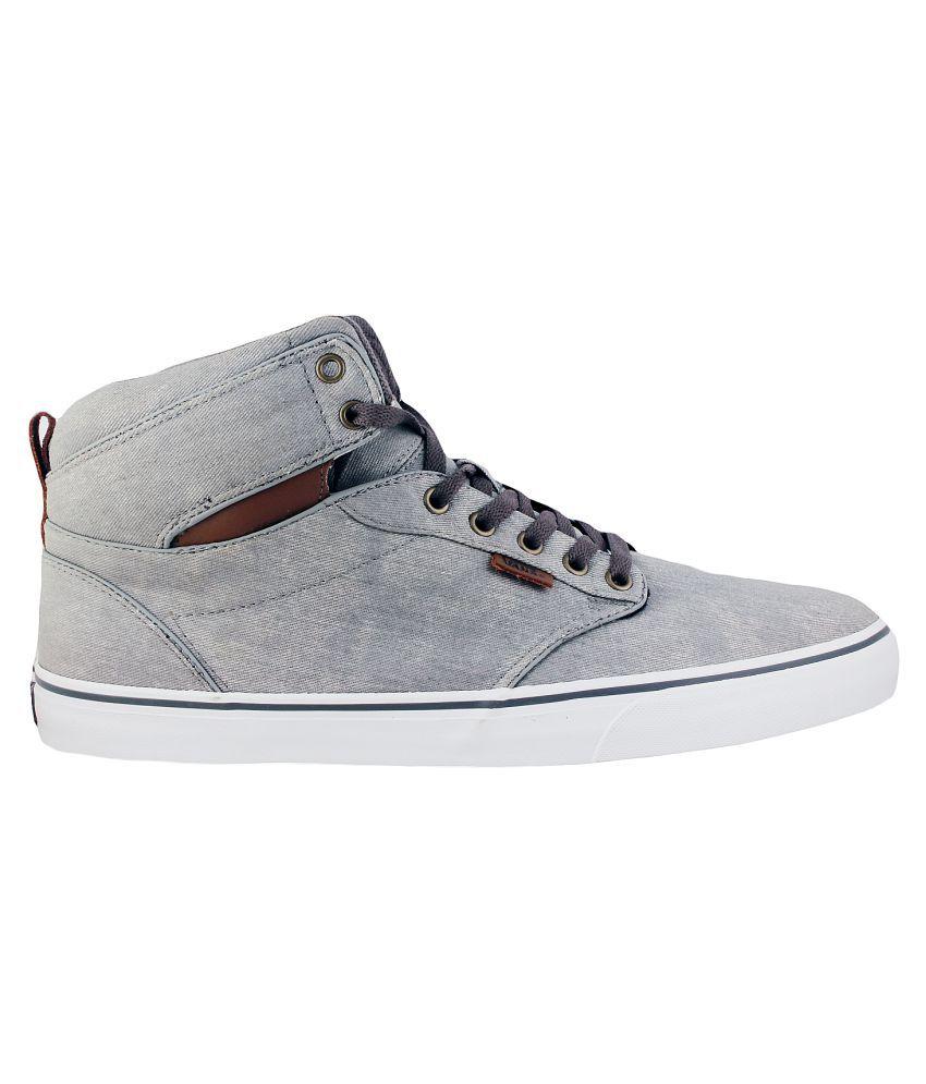 Cheap Gray Vans Shoes