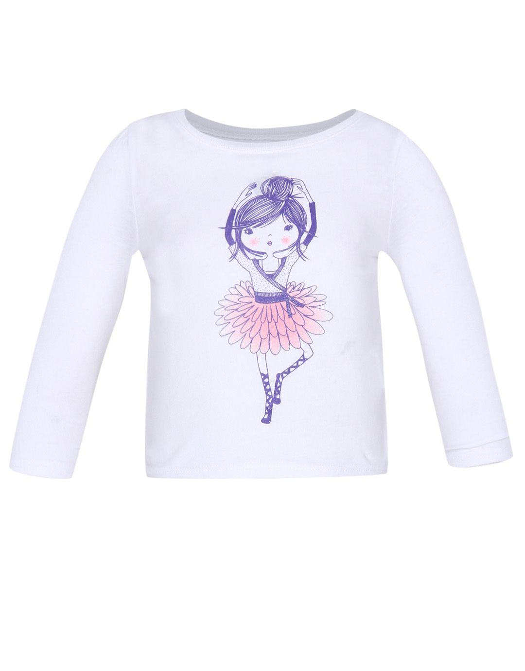 f4e56391201 The Children's Place Toddler Girls Long Sleeve Graphic Tee