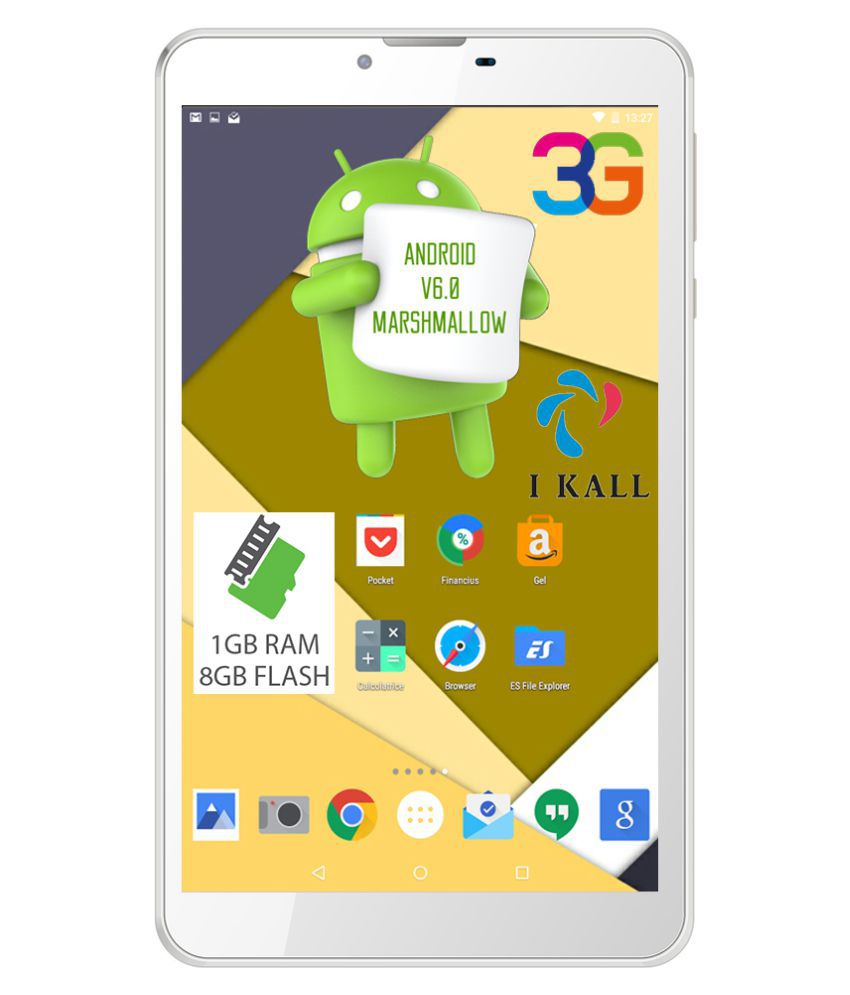 I Kall N9 White ( 3G + Wifi , Voice calling ) Snapdeal Rs. 3699.00