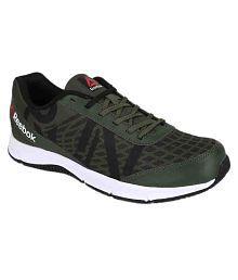 Reebok Super Duo Green Running Shoes