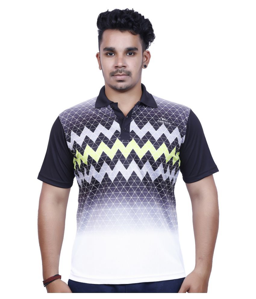 Mayor Multi Polyester Polo T-shirt