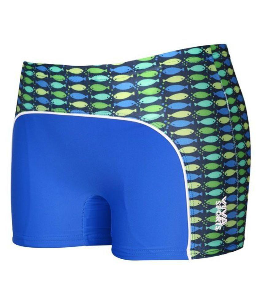 Viva Sports VSTK-002-B Kid's Swimming Trunks (Multicolor)/ Swimming Costume