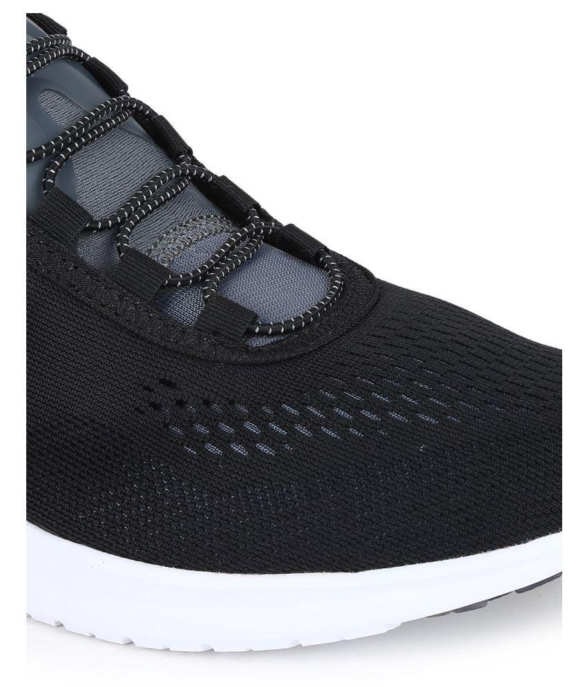 296e3cefab11b4 Reebok Pump Plus Tech Black Running Shoes - Buy Reebok Pump Plus ...