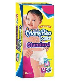 Mamy Poko Standard Pants Diaper M - 36 Pcs