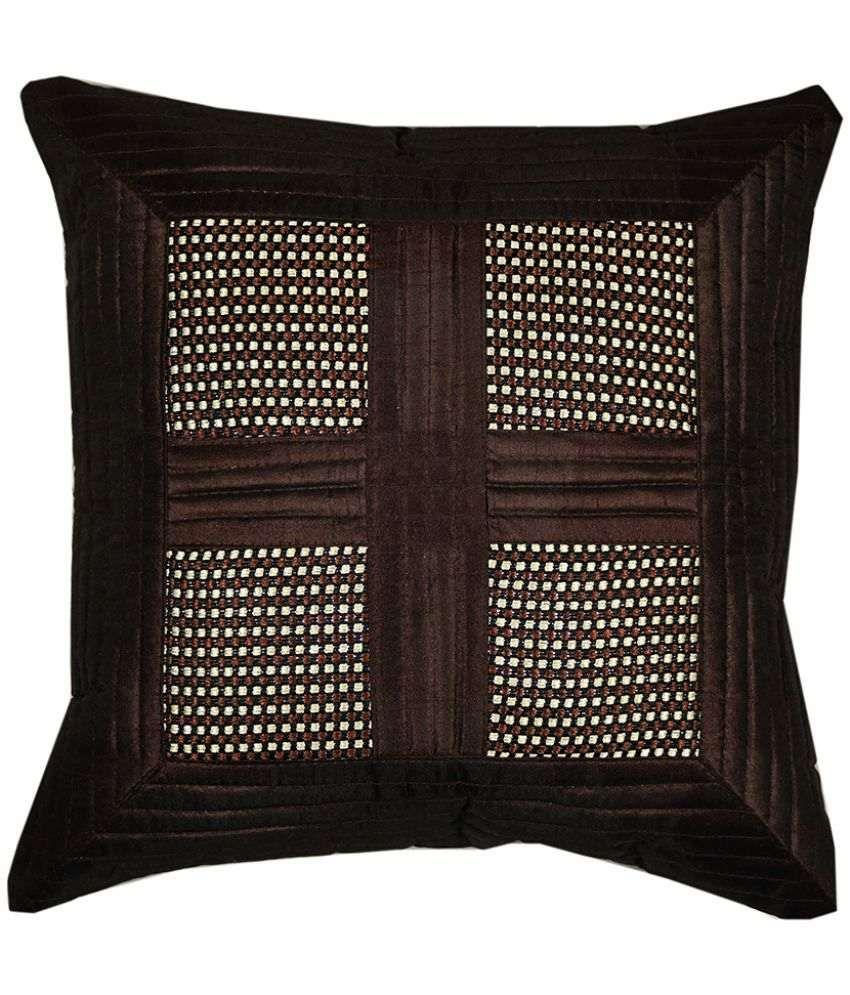 Stop N Shop Single Silk Cushion Covers 40X40 cm (16X16)