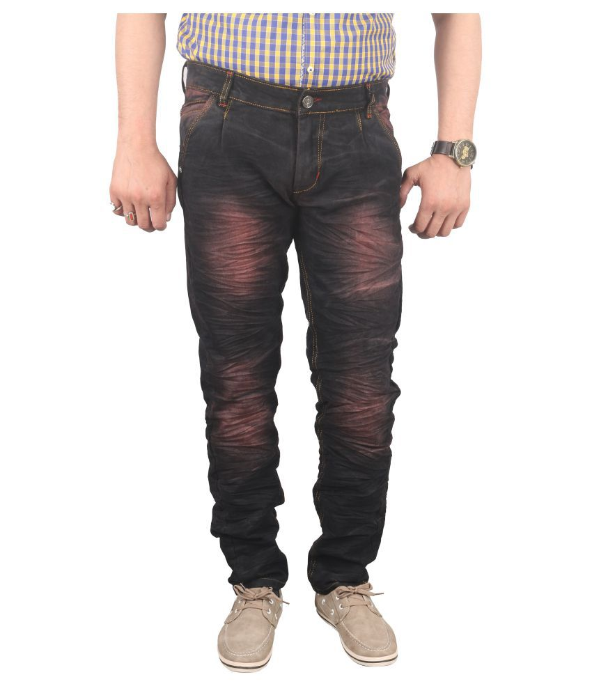 Gradely Brown Slim Jeans