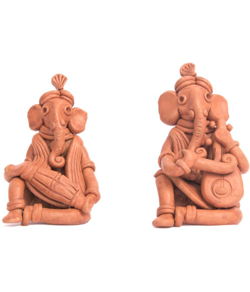 Xupply Retail Ganesha Terracotta Idol