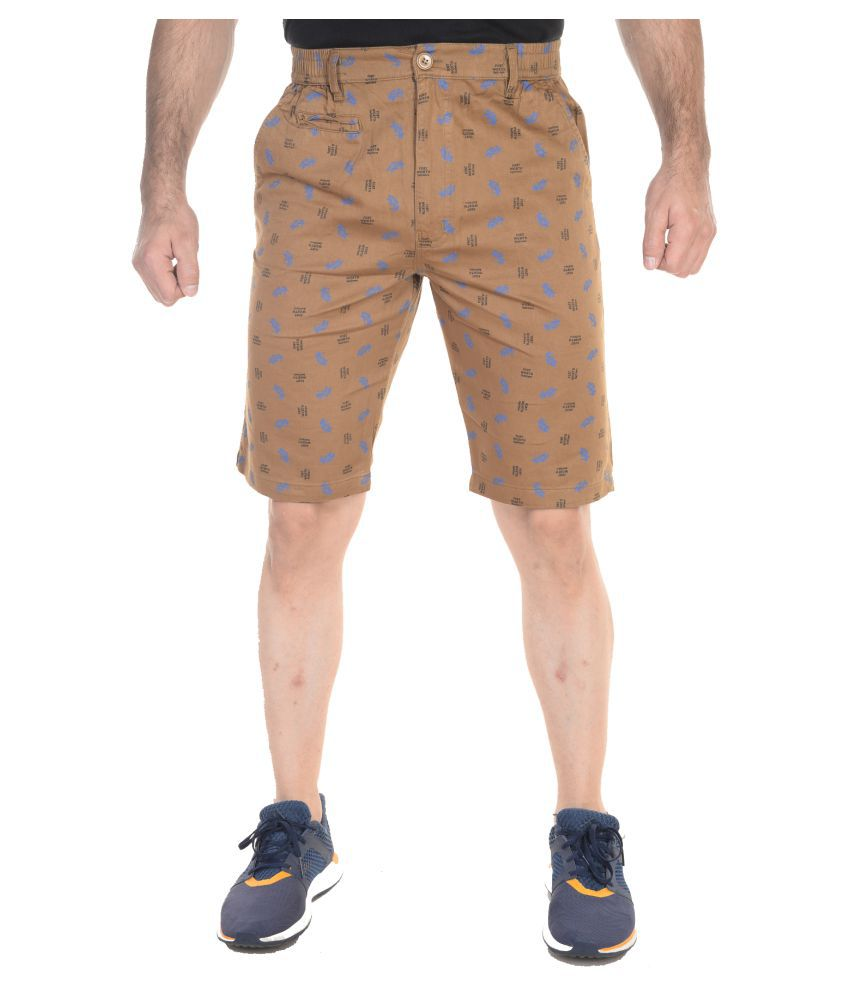Night King Gold Shorts