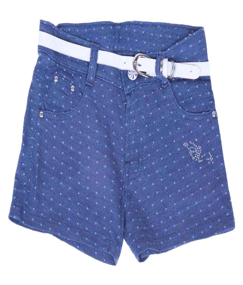 Titli Girls Blue Hot Pants