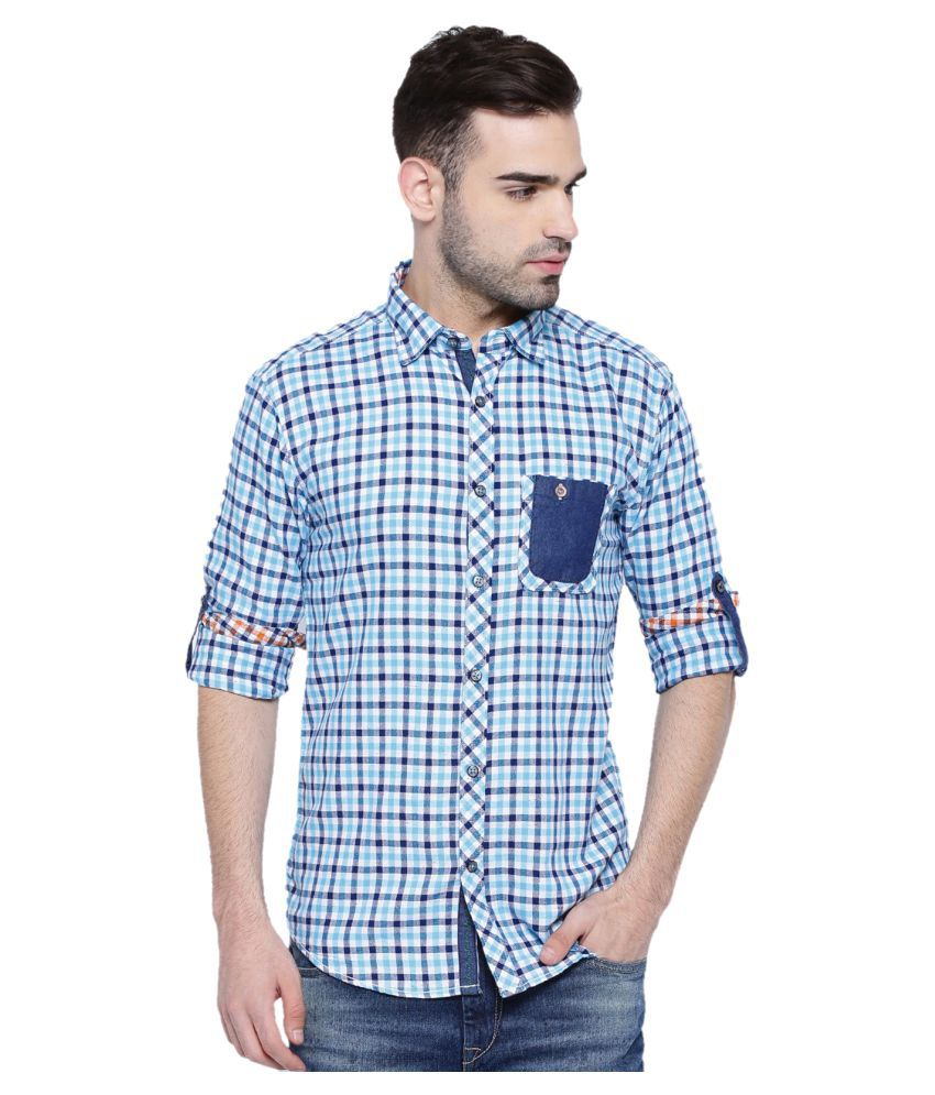 WITH Multi Casuals Slim Fit Shirt