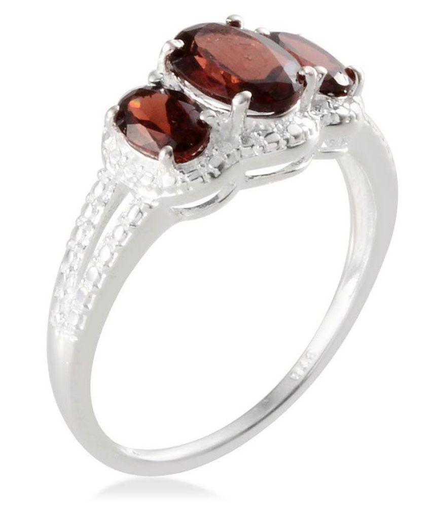 Vaibhav Global 92.5 Silver Ring