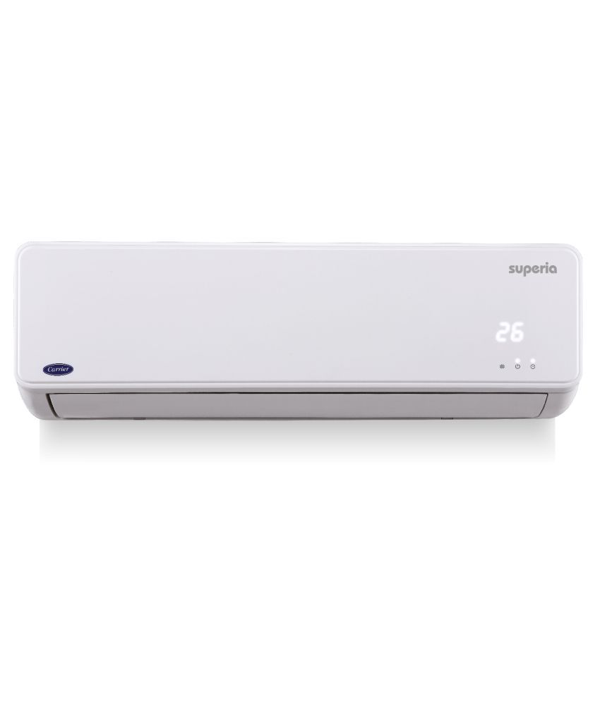 Carrier 1 Ton 3 Star 12k Superia Cyclojet Split Air Conditioner Snapdeal Rs. 30840.00