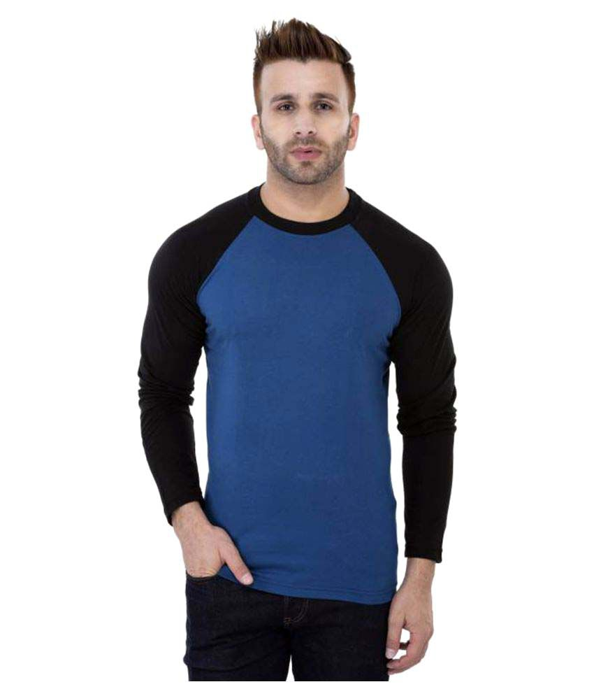 Maa Readymade Suppliers Blue Round T-Shirt