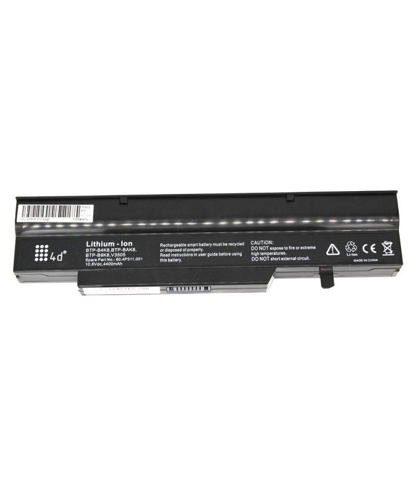 4d Laptop battery Compatible For Fujitsu Btp-B7K8 V3405 V3505 V3525