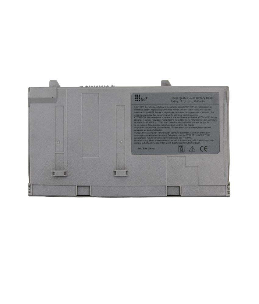 4d Laptop battery Compatible For Dell D400 312-0095 9T119 9T255