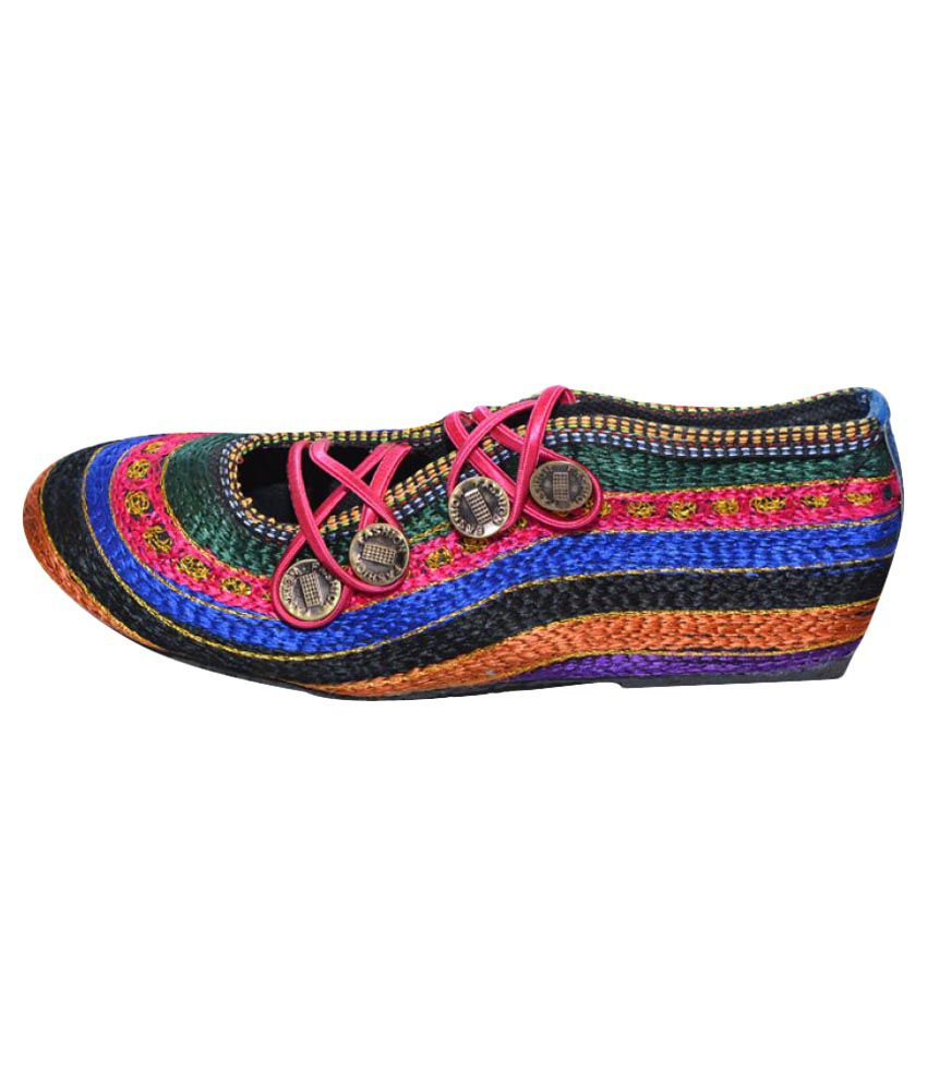 The Rajasthali Multi Color Flat Flats